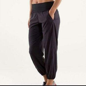 Lululemon OM pants. Size 8